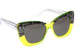 Sunčane naočale Cutler and Gross 1162 Mid Century Neon laminate