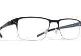 Dioptrijske naočale Mykita Decades Ted, Silver/Black C052