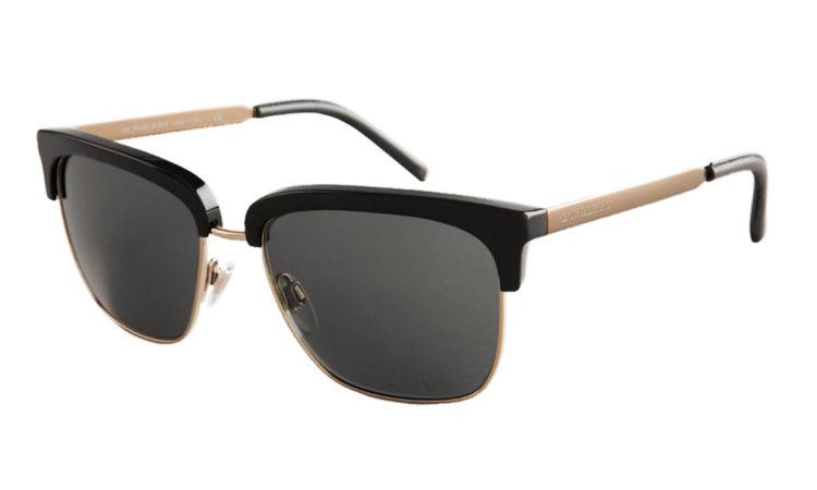 03810b2e0f29 Sunčane naočale Burberry TRENCH COLLECTION BLACK - Bilić Vision Optika