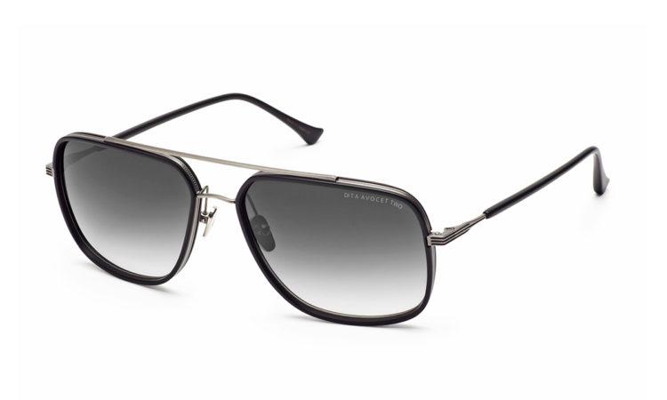 Sunčane naočale Dita AvocetTwo-21009-A-BLK-SLV-58-original
