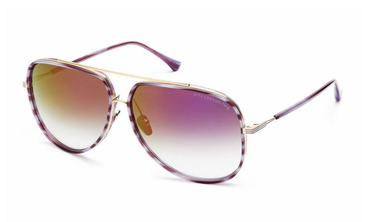 Sunčane naočale Dita – CondorTwo-21010-C-PUR-GLD-62-original