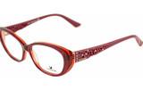 Dioptrijske naočale Swarovski 077_burgundy