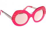 Sunčane naočale Cutler and Gross 1182 Trapeze Ruby Glitter