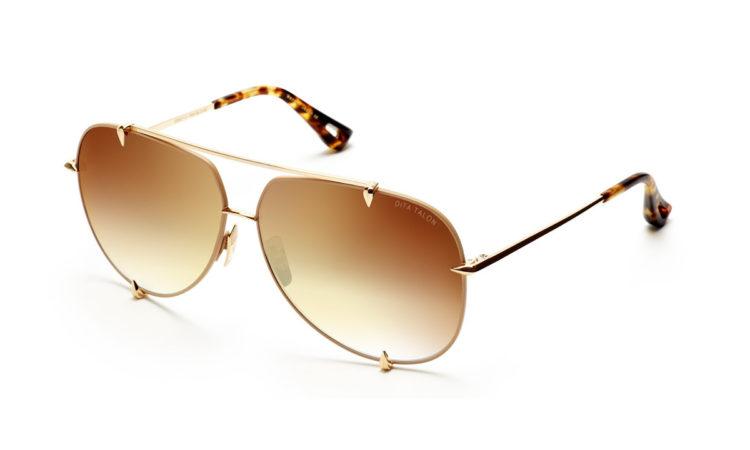 Sunčane naočale Dita – Talon – Satin Tan – 12K Gold