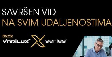 VARILUX  X PROGRESIVI- nova generacija progresiva i u Bilić Vision Optikama