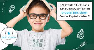 "Event ""Back To School"" u Bilić Vision Optici"