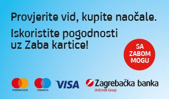 Bilić Vision i Zagrebačka banka brinu za vaš vid!